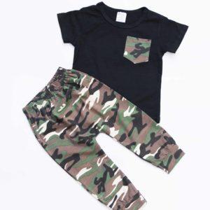 חליפה בהדפס צבאי