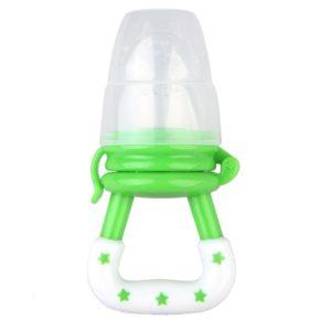 מוצץ טעימות (מוצץ פירות) דגם כוכבים ירוק