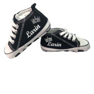 נעלי טרום הליכה – בייבי בלק סטאר