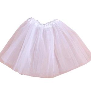 חצאית טוטו – צבע לבן