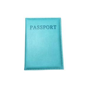 כיסוי דרכון מעוצב – טורקיז