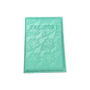 כיסוי דרכון מעוצב – מנטה תחרה